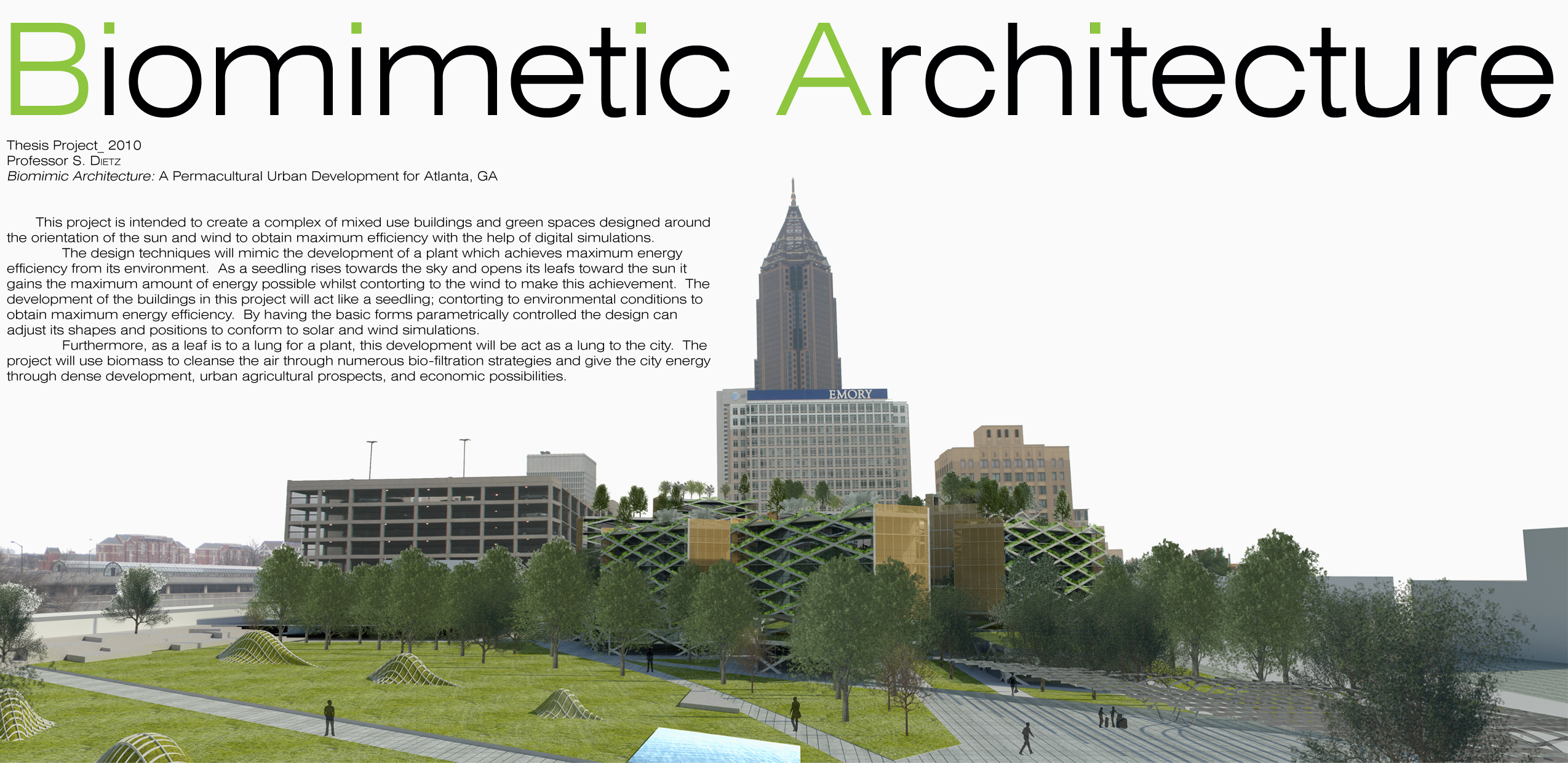 Biomimetic architecture for Is architecture